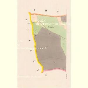 Jawornik - c2796-1-001 - Kaiserpflichtexemplar der Landkarten des stabilen Katasters