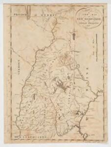 A new map of New Hampshire