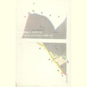 Gross Aurzim (Welky Auřim) - c8466-1-001 - Kaiserpflichtexemplar der Landkarten des stabilen Katasters