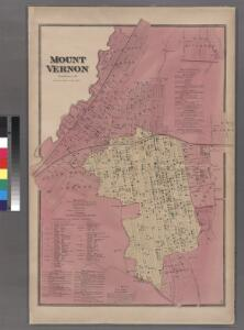Plate 34: Mount Vernon, Westchester Co. N.Y.