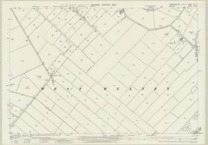 Cambridgeshire XVII.9 (includes: Manea; Upwell; Welney) - 25 Inch Map