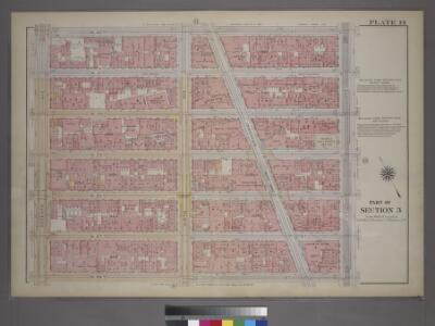 Plate 14, Part of Section 3: [Bounded by W. 32nd Street, Fifth Avenue, W. 26th Street, and Seventh Avenue.]