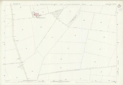 Lincolnshire LXXXVII.9 (includes: Ashby De La Launde and Bloxholm; Scopwick; Temple Bruer with Temple High Grange) - 25 Inch Map
