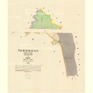 Tschernhausen - c0907-1-001 - Kaiserpflichtexemplar der Landkarten des stabilen Katasters