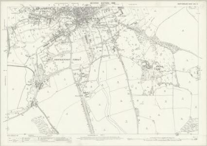 Hertfordshire XXIX.15 (includes: Bayford; Brickendon Liberty; Hertford) - 25 Inch Map