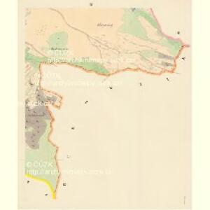 Billenitz - c0221-1-004 - Kaiserpflichtexemplar der Landkarten des stabilen Katasters