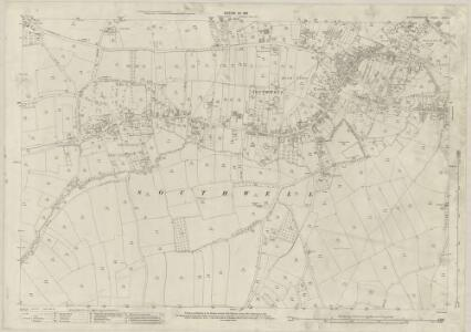 Nottinghamshire XXXIV.3 (includes: Halam; Southwell) - 25 Inch Map