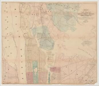 Map of the five cities of New York, Brooklyn, Jersey City, Hoboken & Hudson City : Northern sheet