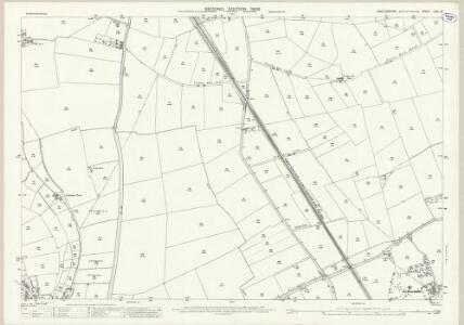 Lincolnshire LXXI.13 (includes: Branston and Mere; Heighington; Washingborough) - 25 Inch Map