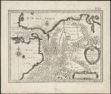 Terre firma et novum regum Granatense et Popayan