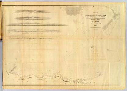 Chart of the Antarctic Continent.