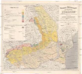 Geologische-Übersichtskarte des Königreiches Rumänien