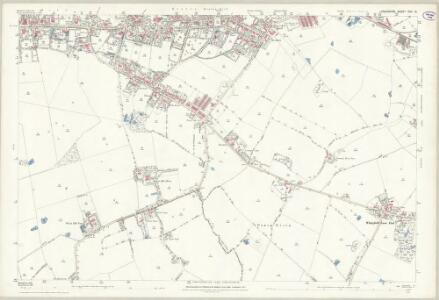 Lancashire CVII.14 (includes: Huyton With Roby; Liverpool; Tarbock; Whiston) - 25 Inch Map