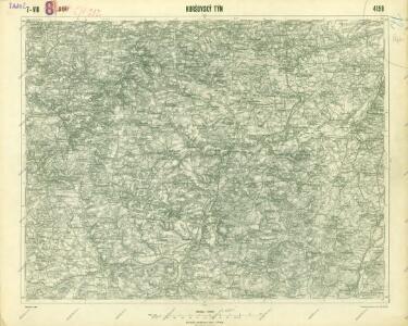 III. vojenské mapování 4150