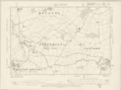 Buckinghamshire X.SE - OS Six-Inch Map