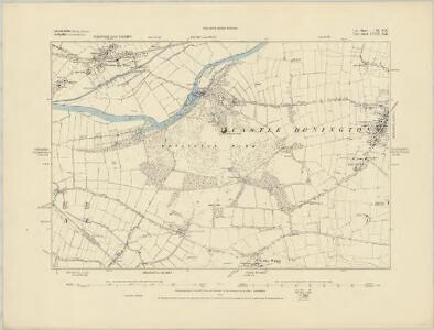 Leicestershire IX.SE - OS Six-Inch Map