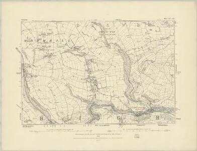 Derbyshire XIII.NW - OS Six-Inch Map