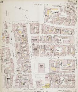 Insurance Plan of Sheffield (1896): sheet 18