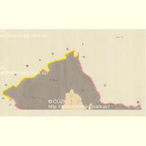 Busau (Bauzow) - m0193-1-001 - Kaiserpflichtexemplar der Landkarten des stabilen Katasters