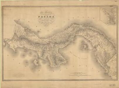 Carta corográfica del Estado de Panamá