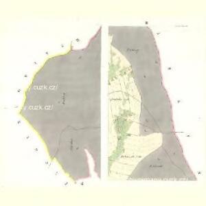 Neudorf (Walterice) - c8318-1-001 - Kaiserpflichtexemplar der Landkarten des stabilen Katasters