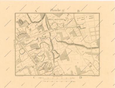 La Topographie de Paris ou Plan détaillé de la Ville de Paris 9