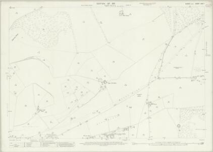 Sussex LXVI.7 (includes: Brighton; Falmer; Kingston Near Lewes) - 25 Inch Map