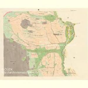 Pössigkau (Besikow) - c0146-1-003 - Kaiserpflichtexemplar der Landkarten des stabilen Katasters