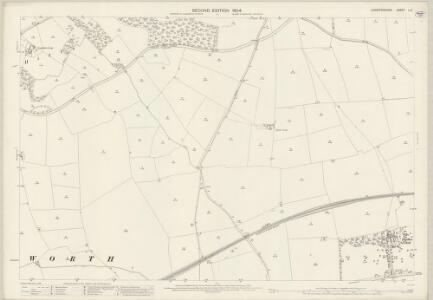 Leicestershire L.6 (includes: Laughton; Lubenham; Theddingworth) - 25 Inch Map