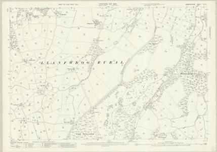 Denbighshire XIX.10 (includes: Efenechtid; Llanfwrog Rural; Rhuthun) - 25 Inch Map