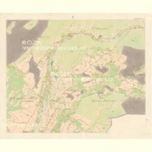 Unter Beczwa (Dolni Beczwa) - m0477-1-009 - Kaiserpflichtexemplar der Landkarten des stabilen Katasters