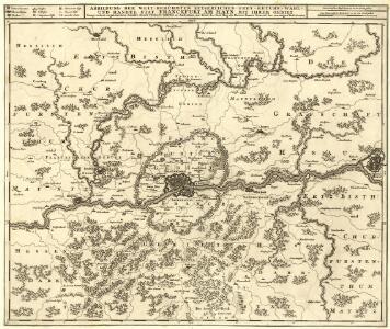 Abbildung der Weit-Berühmten Keyserlichen- Frey- Reychs- Wahl- und Handel- Stat Franckfurt am Mayn mit ihrem Gebiet