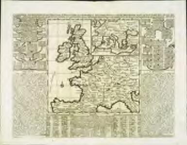 Carte pour l'intelligence de l'histoire d'Angleterre