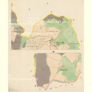 Trzitesch - c6467-2-002 - Kaiserpflichtexemplar der Landkarten des stabilen Katasters