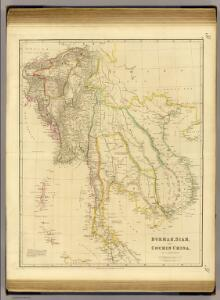 Burmah, Siam, Cochin China.