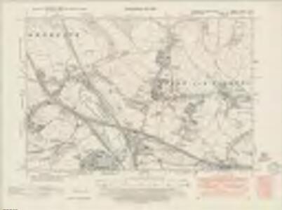 Yorkshire CCXCV.SE - OS Six-Inch Map