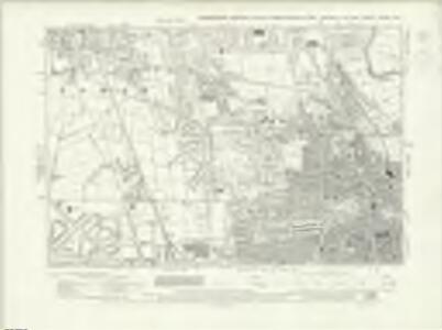 Yorkshire CCXXVI.SW - OS Six-Inch Map