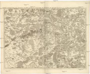 Carte particuliere des environs de Mons, d'Ath, de Charleroy, de Maubeuge, du Quesnoy, de Conde, et autres