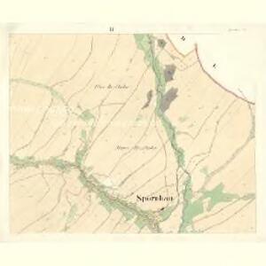 Spronhau (Spornhawa) - m2197-1-002 - Kaiserpflichtexemplar der Landkarten des stabilen Katasters