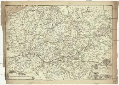 Le Maine, l'Anjou et la Touraine. La Beauce et la Sologne. Le Perche Goüet, le Vendomois, le Dunois, le Blaisois, l'Orleanois et le pais Chartrain