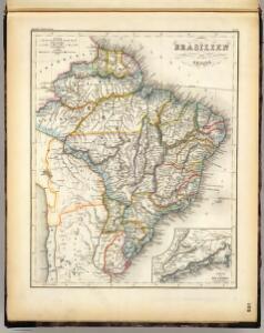 Brasilien, Guiana.