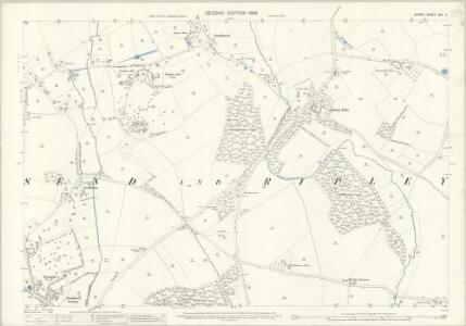 Surrey XXIV.2 (includes: Ripley; Send) - 25 Inch Map
