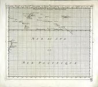 Carte mar.e de la Nouv.lle Zelande des isles Salomon et de plusieurs autres isles merid.es