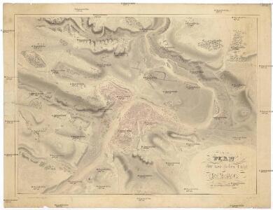 Plan der koniglichen Hauptstadt Prag mit den naechsten Umgebungen