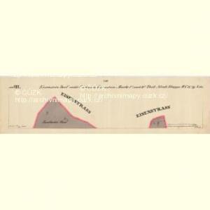 Eisenstein Dorf - c7755-2-020 - Kaiserpflichtexemplar der Landkarten des stabilen Katasters