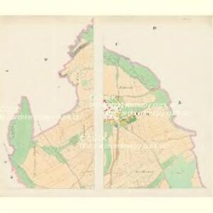 Chlum - c2505-1-001 - Kaiserpflichtexemplar der Landkarten des stabilen Katasters