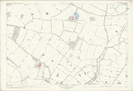 Staffordshire XXX.15 (includes: Marston; Salt And Enson) - 25 Inch Map