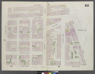 Plate 53: Map bounded by 9th Street, Fourth Avenue, 4th Street, University Place