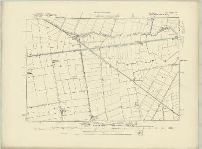 Lincolnshire CLIV.SW - OS Six-Inch Map