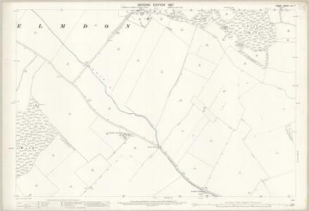 Essex (1st Ed/Rev 1862-96) VIII.7 (includes: Arkesden; Elmdon; Littlebury; Wendens Ambo) - 25 Inch Map
